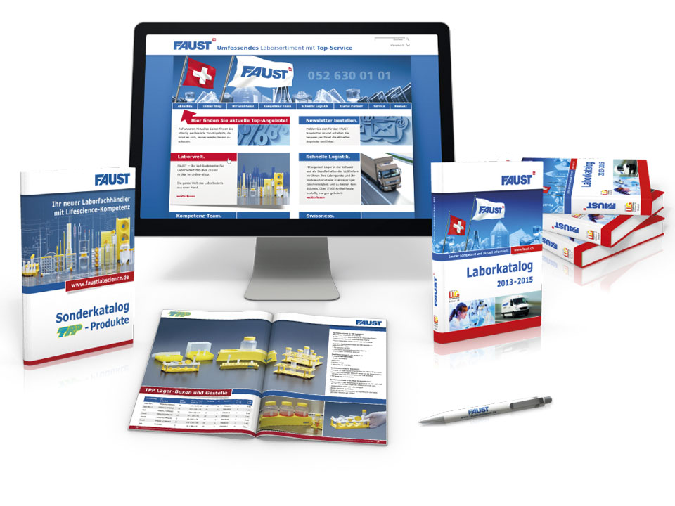 Corporate Print- und Webdesign - Faust AG
